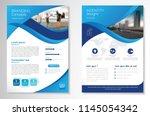 template vector design for... | Shutterstock .eps vector #1145054342