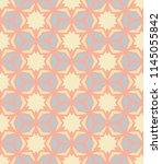 seamless pattern morrocan... | Shutterstock . vector #1145055842