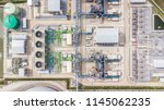 aerial top view electric...   Shutterstock . vector #1145062235