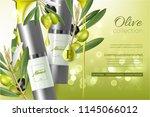 design cosmetics product... | Shutterstock .eps vector #1145066012