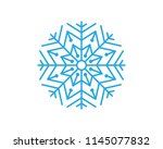 snowflakes style design for...   Shutterstock .eps vector #1145077832