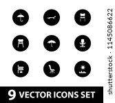 comfort icon. collection of 9... | Shutterstock .eps vector #1145086622