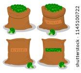 vector illustration for bags... | Shutterstock .eps vector #1145100722