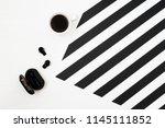 stylish minimalistic... | Shutterstock . vector #1145111852
