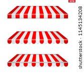 set of rectangular fabric...   Shutterstock .eps vector #1145134208
