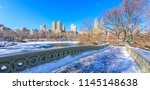 Bow Bridge In The Winter At...