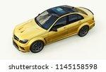 super fast sports car color...   Shutterstock . vector #1145158598
