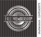free membership silvery shiny... | Shutterstock .eps vector #1145162075