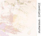 autumn foliage rose gold blush... | Shutterstock .eps vector #1145164412