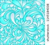 silk texture fluid shapes ... | Shutterstock .eps vector #1145184038