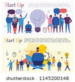 vector concept illustration... | Shutterstock .eps vector #1145200148