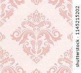 orient vector classic pattern....   Shutterstock .eps vector #1145215202