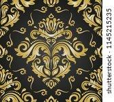 orient vector classic pattern....   Shutterstock .eps vector #1145215235