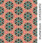 seamless pattern morrocan... | Shutterstock . vector #1145226452