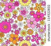 Flowers Seamless Pattern...