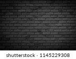 black wall background.   Shutterstock . vector #1145229308