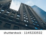 perspective view of tall... | Shutterstock . vector #1145233532