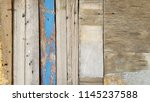 reclaimed wood and different... | Shutterstock . vector #1145237588