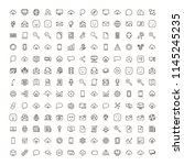 network icon set. collection of ...   Shutterstock .eps vector #1145245235