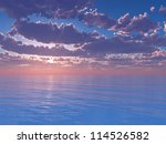 colourful landscape on a... | Shutterstock . vector #114526582