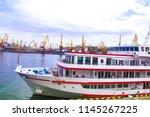 ship liner boat   Shutterstock . vector #1145267225