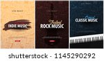 rock  classic  indie music... | Shutterstock .eps vector #1145290292
