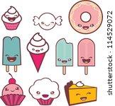 cute candy | Shutterstock .eps vector #114529072