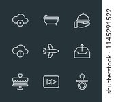 modern flat simple vector icon... | Shutterstock .eps vector #1145291522