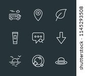 modern flat simple vector icon... | Shutterstock .eps vector #1145293508