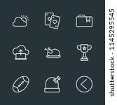 modern flat simple vector icon... | Shutterstock .eps vector #1145295545