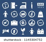 set of 20 icons such as lost...