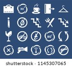 set of 20 icons such as weapons ...