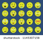set of 20 icons such as whistle ... | Shutterstock .eps vector #1145307158