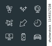 modern flat simple vector icon... | Shutterstock .eps vector #1145317238