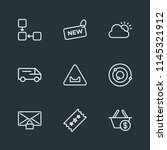 modern flat simple vector icon... | Shutterstock .eps vector #1145321912