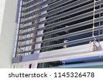 window with modern external... | Shutterstock . vector #1145326478