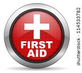 first aid icon | Shutterstock . vector #114533782