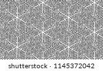 abstract geometric pattern with ... | Shutterstock .eps vector #1145372042