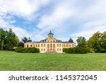 the baroque belvedere castle... | Shutterstock . vector #1145372045