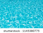 pattern of blue water surface... | Shutterstock . vector #1145380775