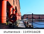 albert dock  liverpool  england ... | Shutterstock . vector #1145416628