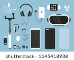 vector illustration set of... | Shutterstock .eps vector #1145418938