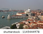 an elevated view over the... | Shutterstock . vector #1145444978