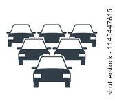 car fleet icon. clipart image... | Shutterstock .eps vector #1145447615