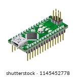 iot micro controller nano... | Shutterstock .eps vector #1145452778