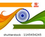 vector illustration of indian... | Shutterstock .eps vector #1145454245