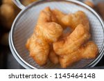 chinese donut   pa tong go | Shutterstock . vector #1145464148