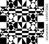 geometric decorative pattern.... | Shutterstock .eps vector #1145472062