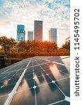 ecological energy renewable...   Shutterstock . vector #1145495702