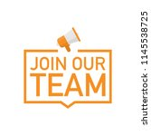 Join Our Team With Megaphone...